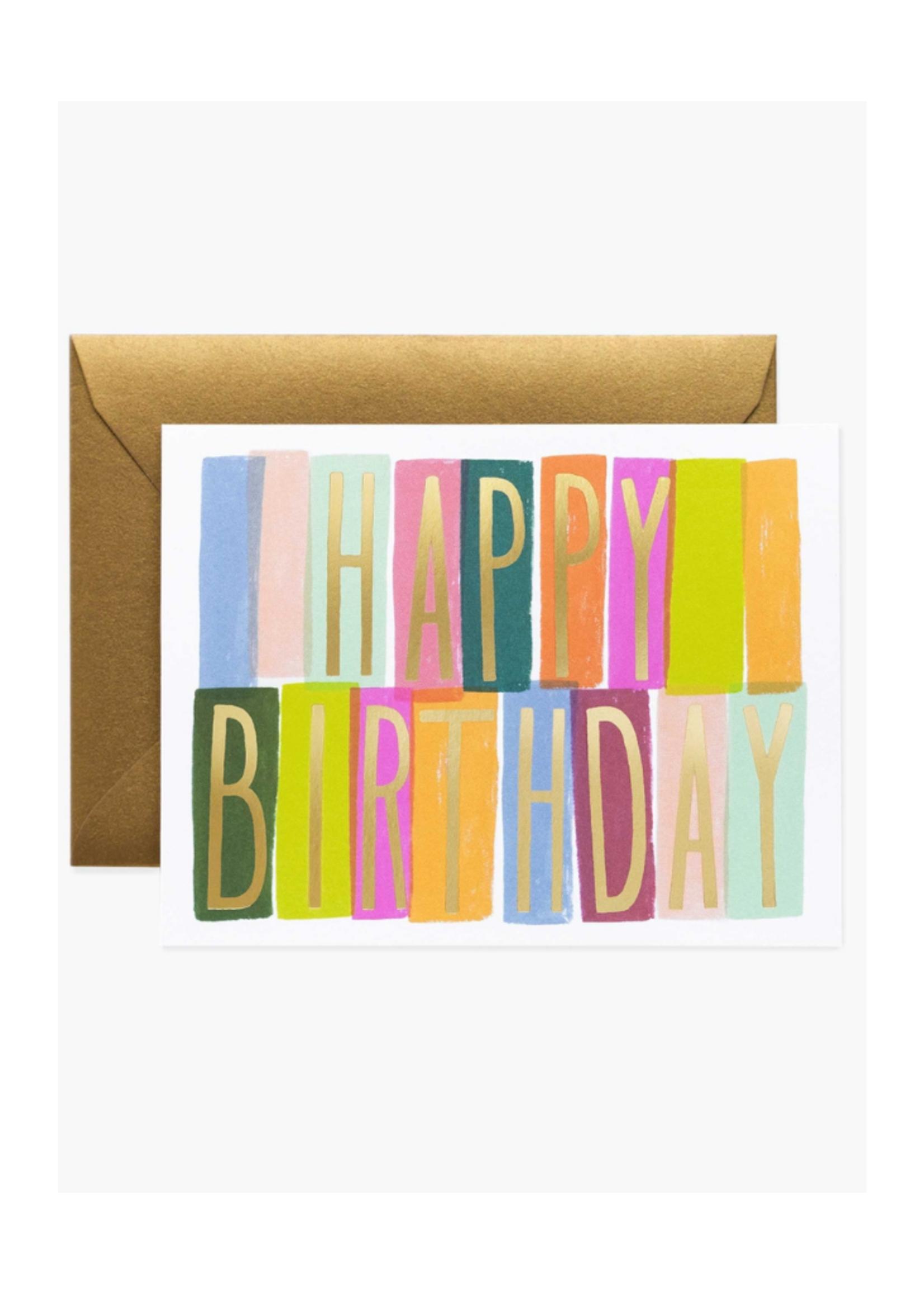 Rifle Paper Merida Birthday