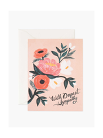 Rifle Paper Co. Rifle Paper Co. Sympathy With Deepest