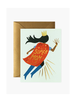 Rifle Paper Co. Rifle Paper Co. Super Mom Blue Card