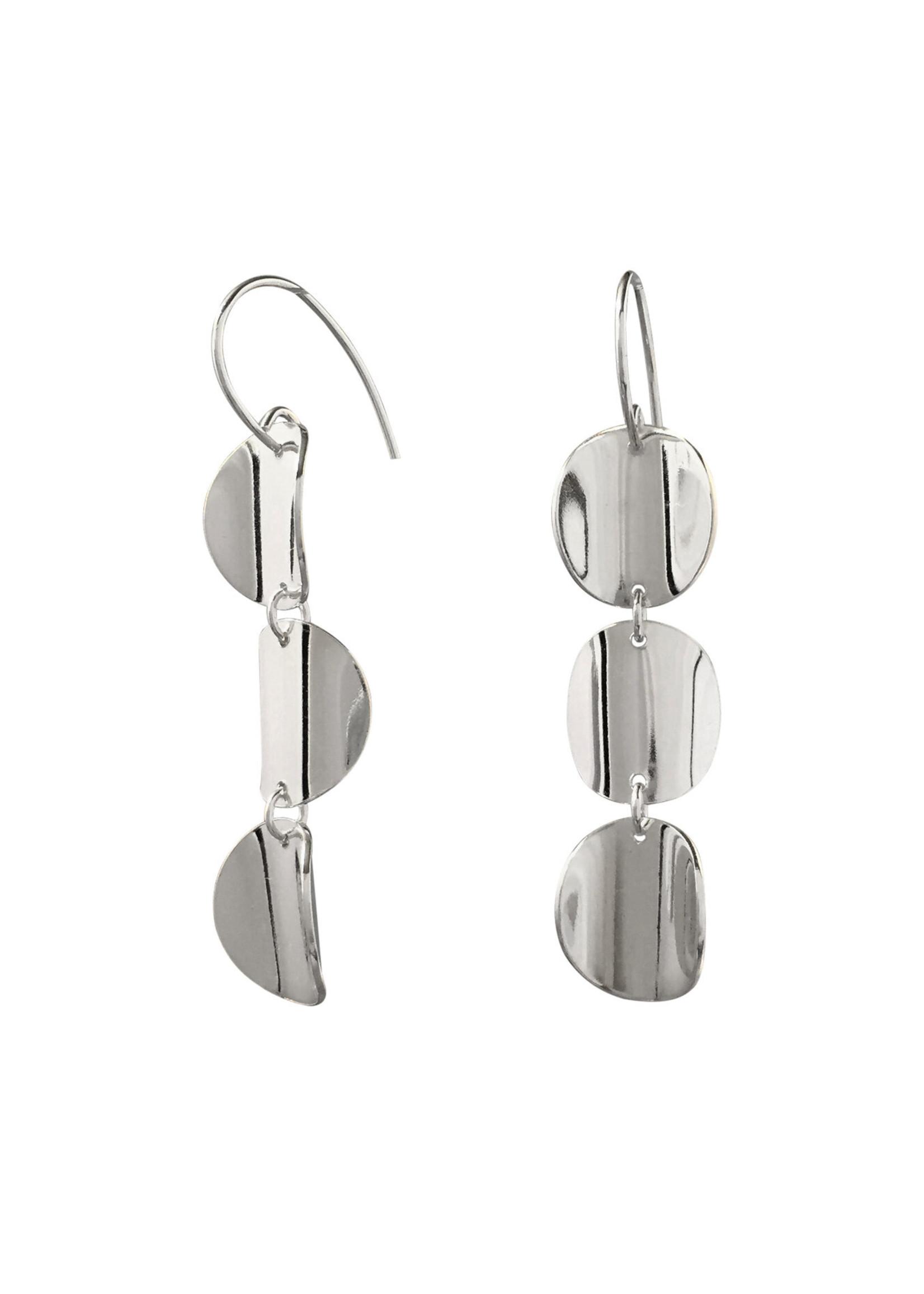 Suga Jewelry Triplet Earrings