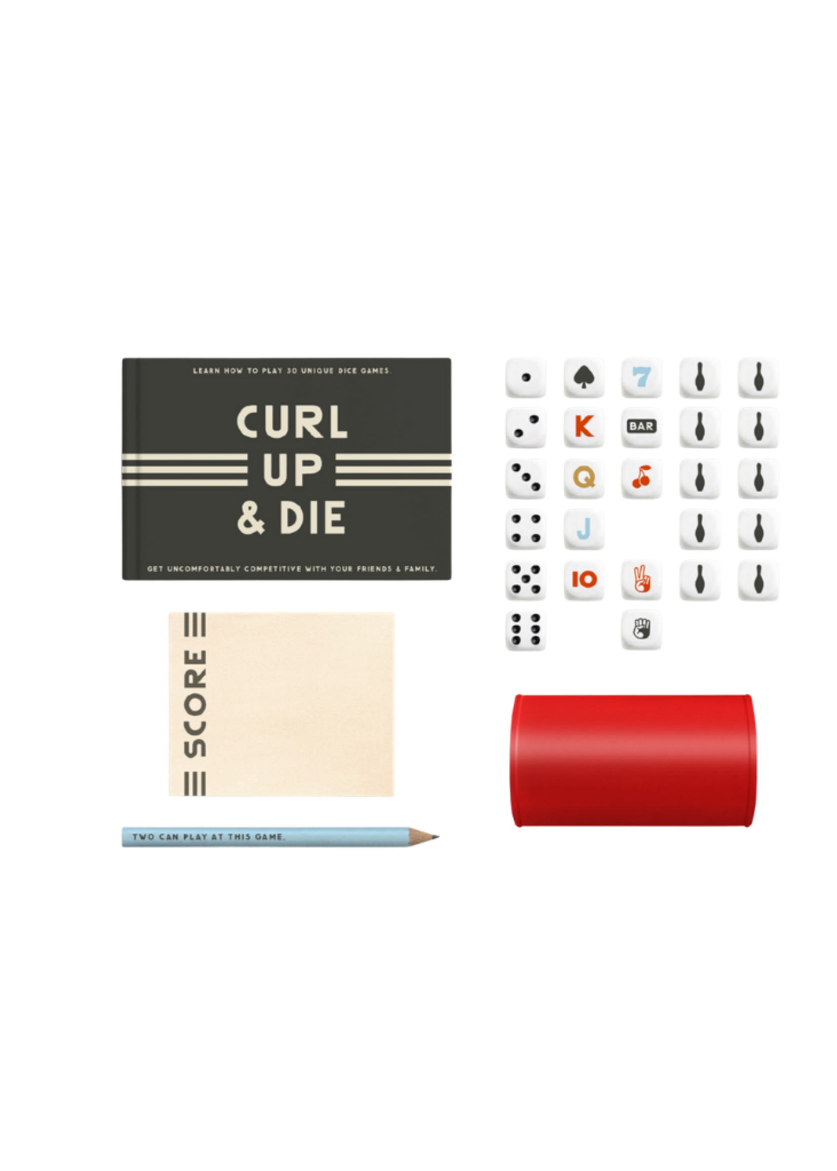 Chronicle Books That's How We Roll Dice Games