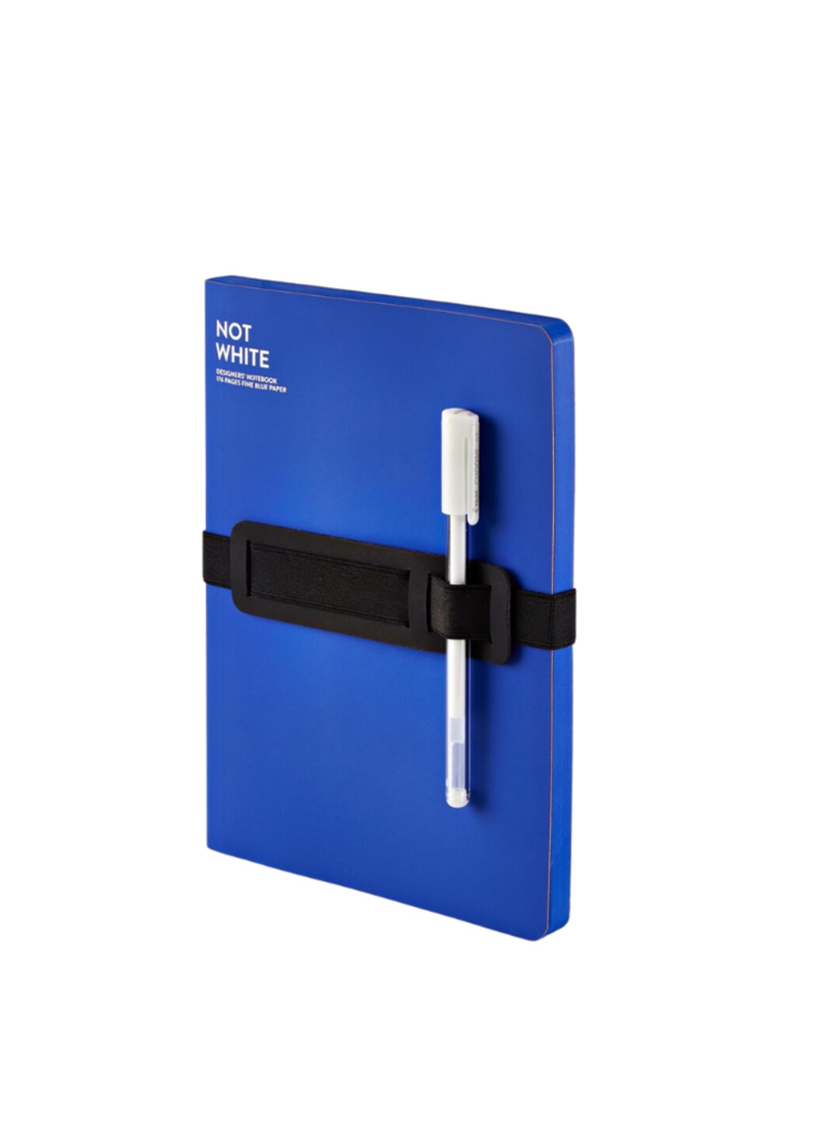 nuuna Not White Large Light Blue Notebook