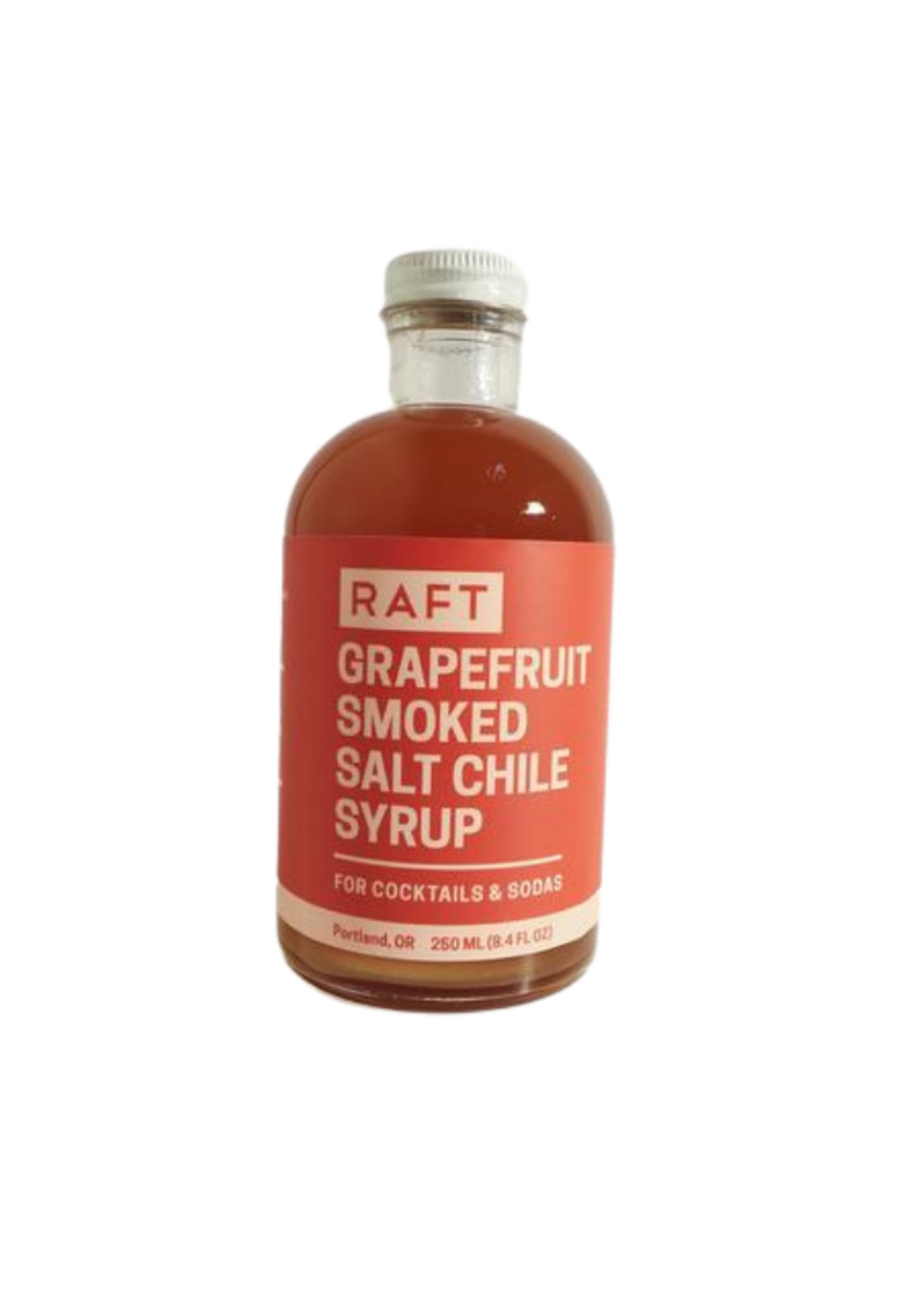 RAFT Grapefruit Chile and Smoked Salt Syrup