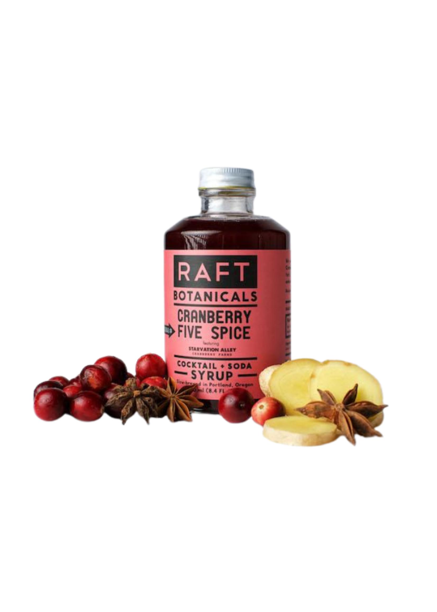 RAFT Cranberry 5 Spice Syrup