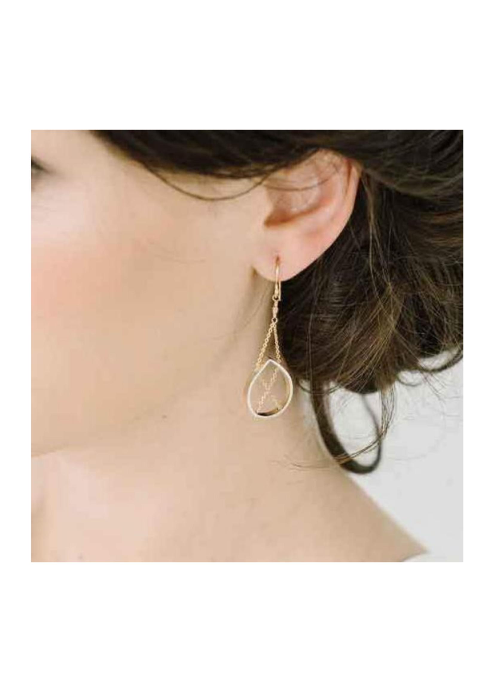 Vanessa Gade Petal Earrings