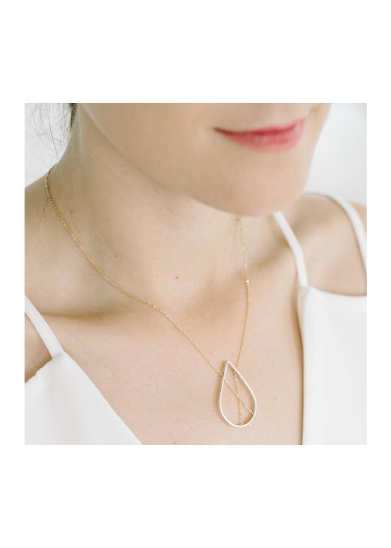 Vanessa Gade Petal Necklace