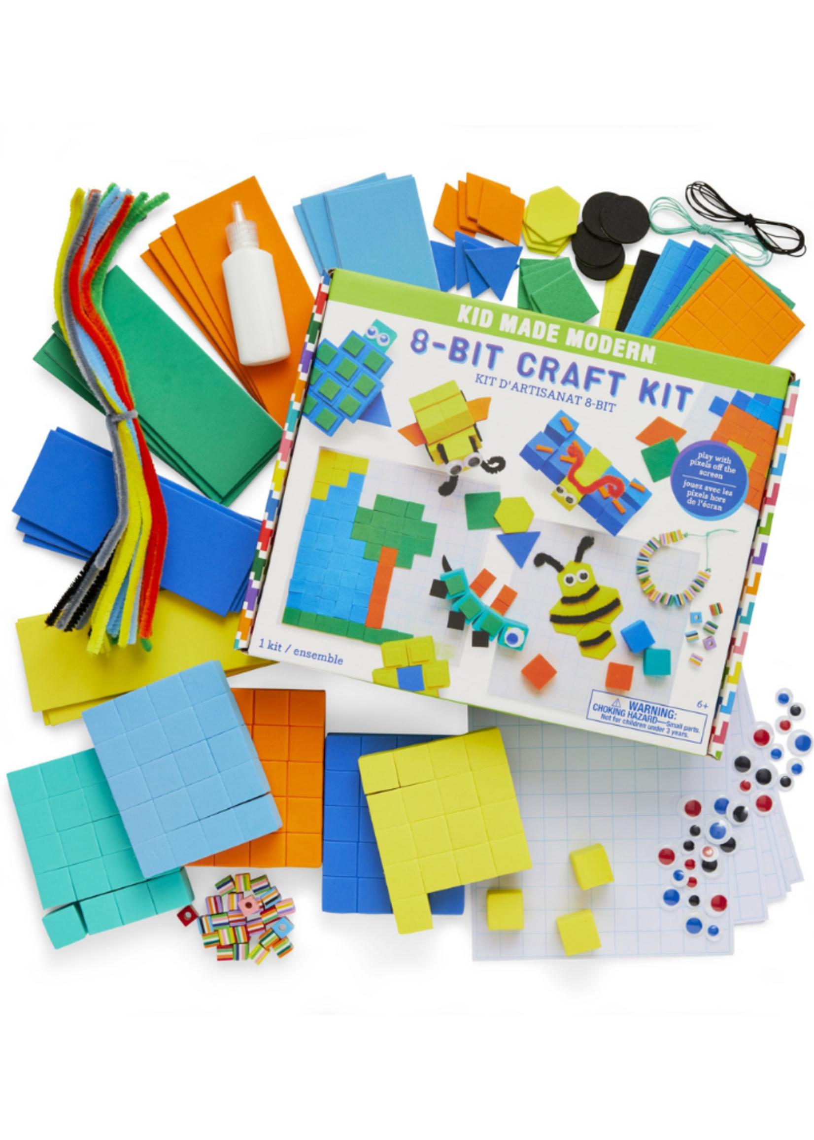 Kids Made Modern 8 Bit Craft Kit