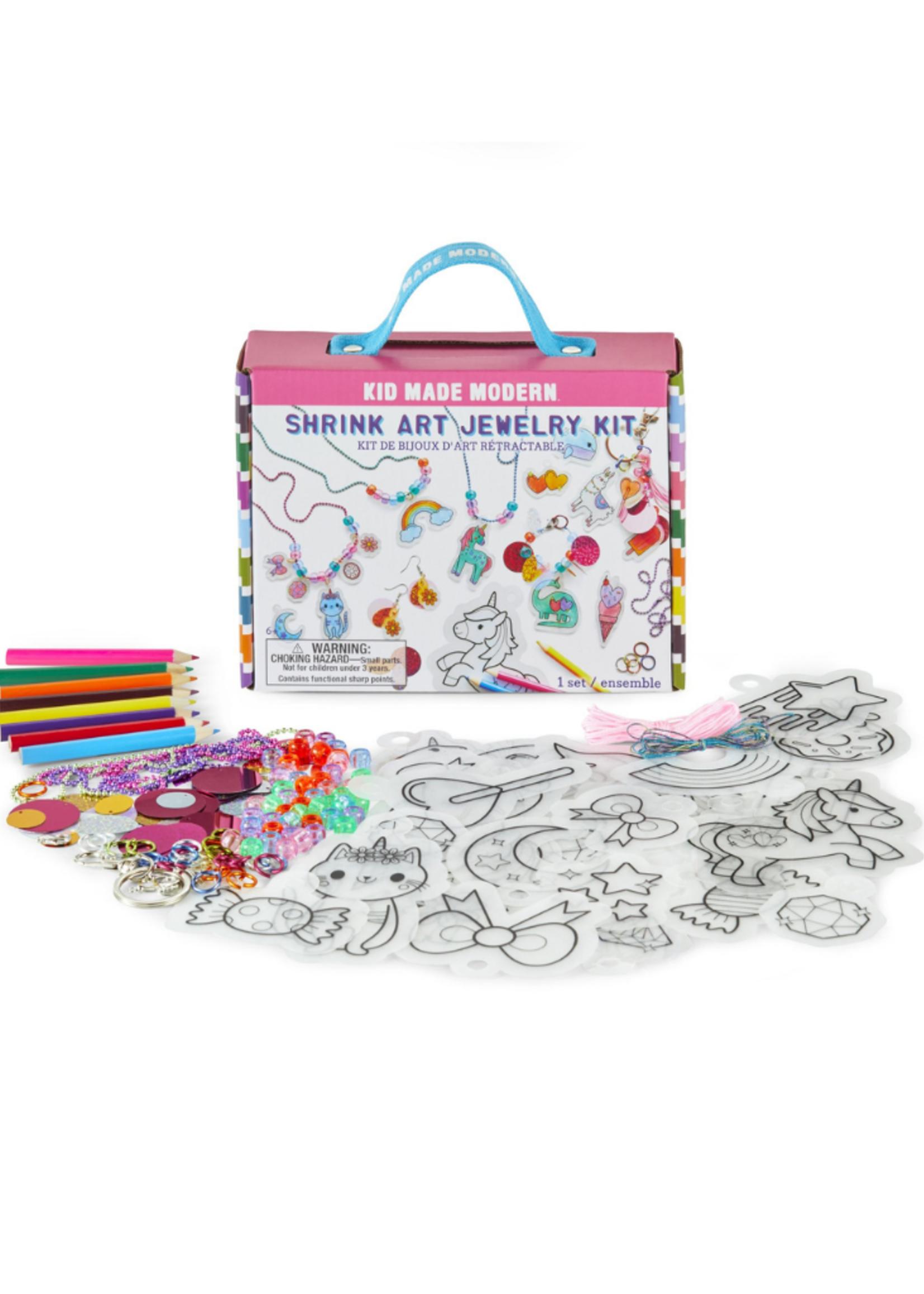 Kids Made Modern Shrink Art Jewelry Kit