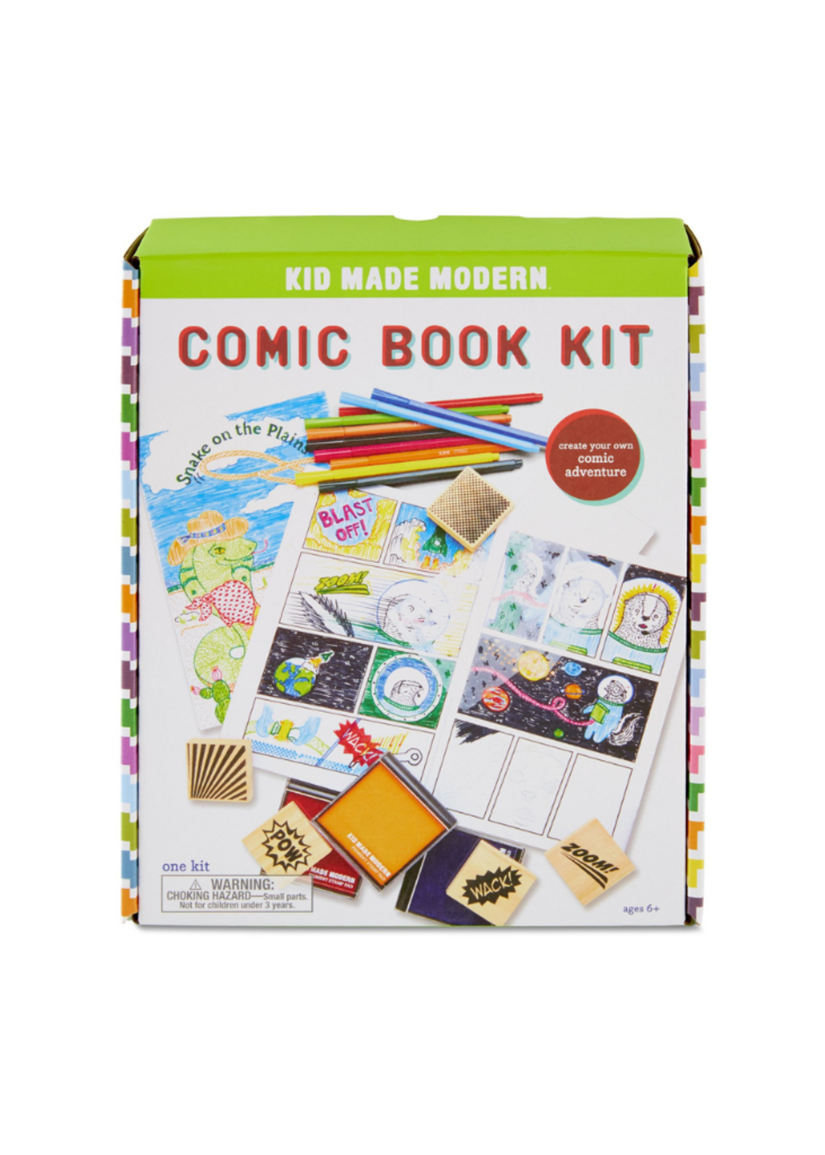 Kids Made Modern Comic Book Kit