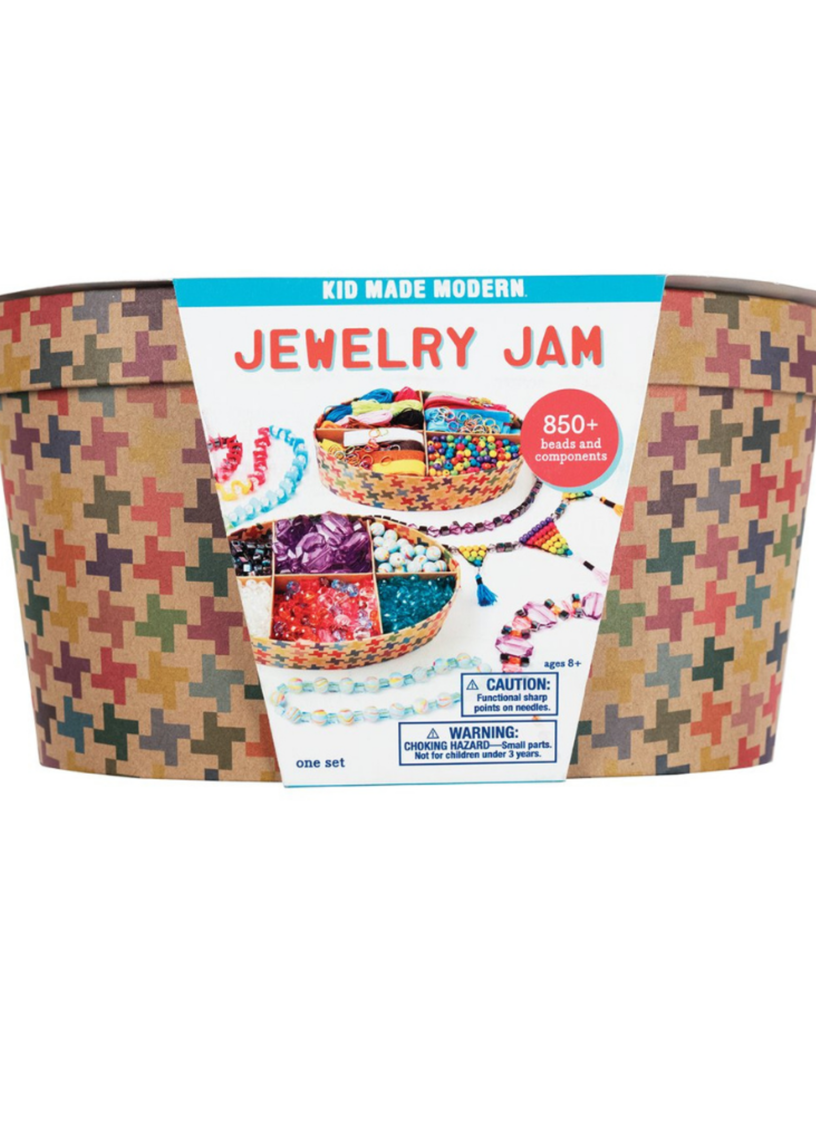 Kids Made Modern Jewelry Jam Jewelry Making Kit