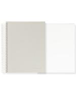 Mishmash Mishmash Easy Breezy Grey Coil Notebook