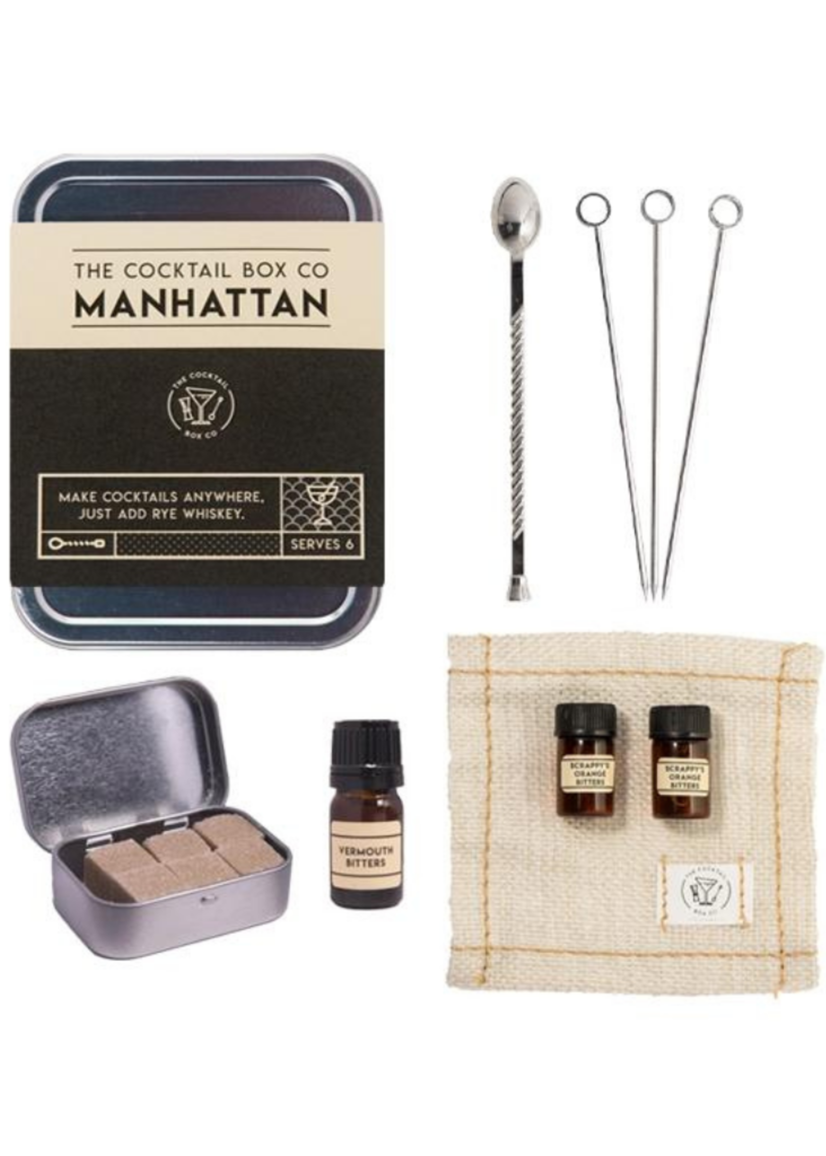 The Cocktail Box Co. The Manhattan Cocktail Kit