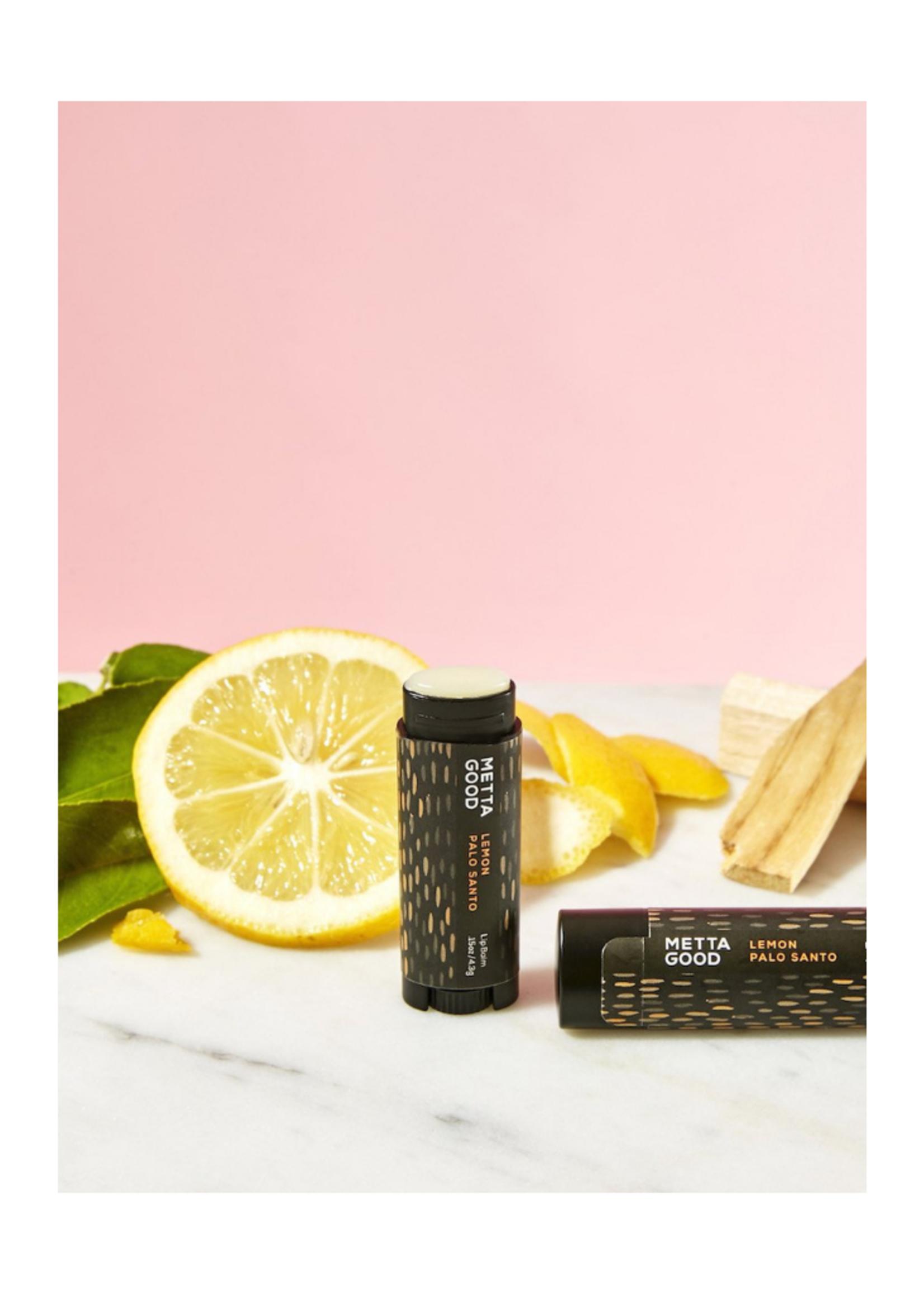 Metta Good Natural Lip Balm - Lemon Palo Santo