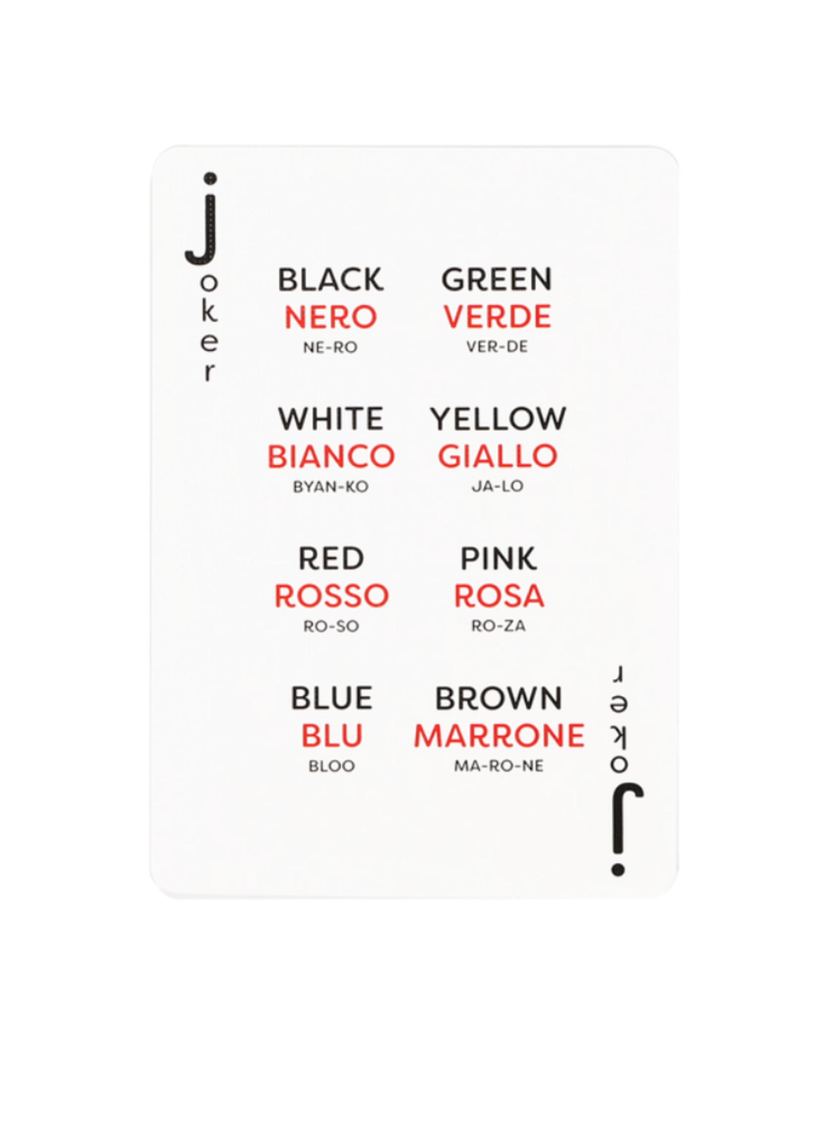 Lingo Playing Cards - Italian