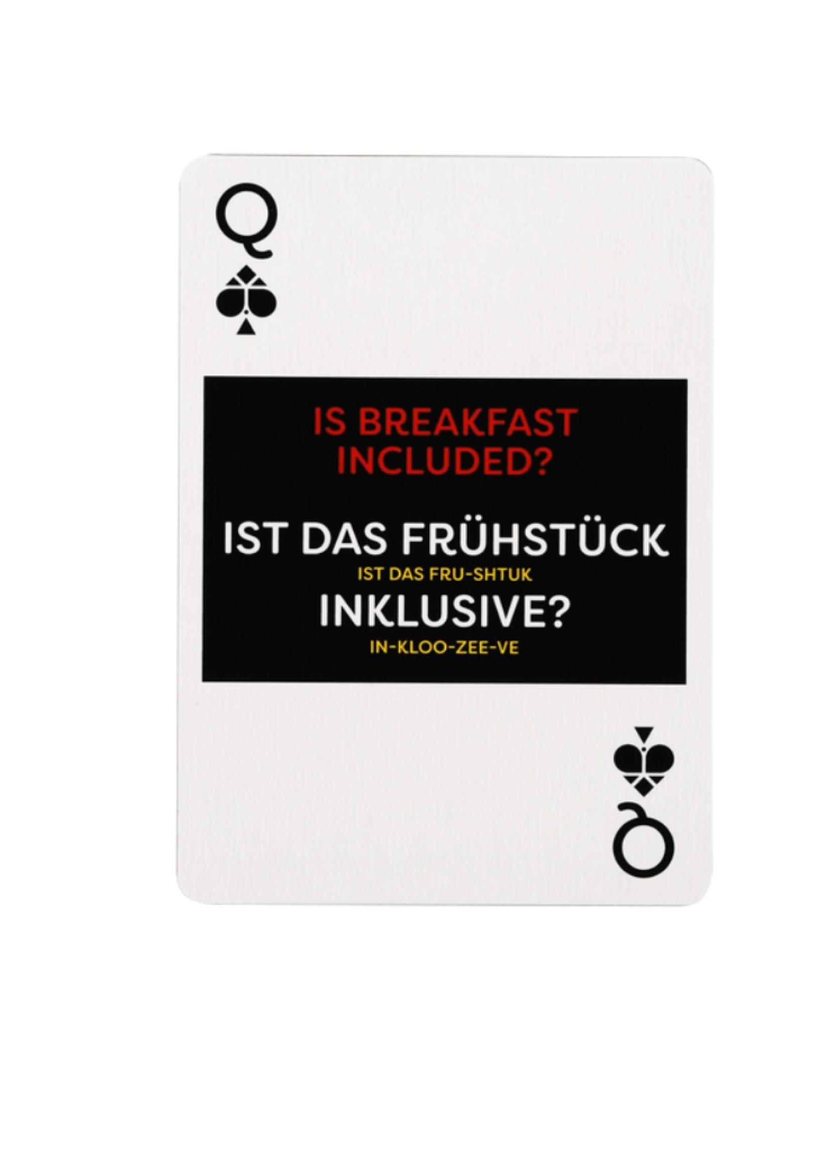 Lingo Playing Cards - German