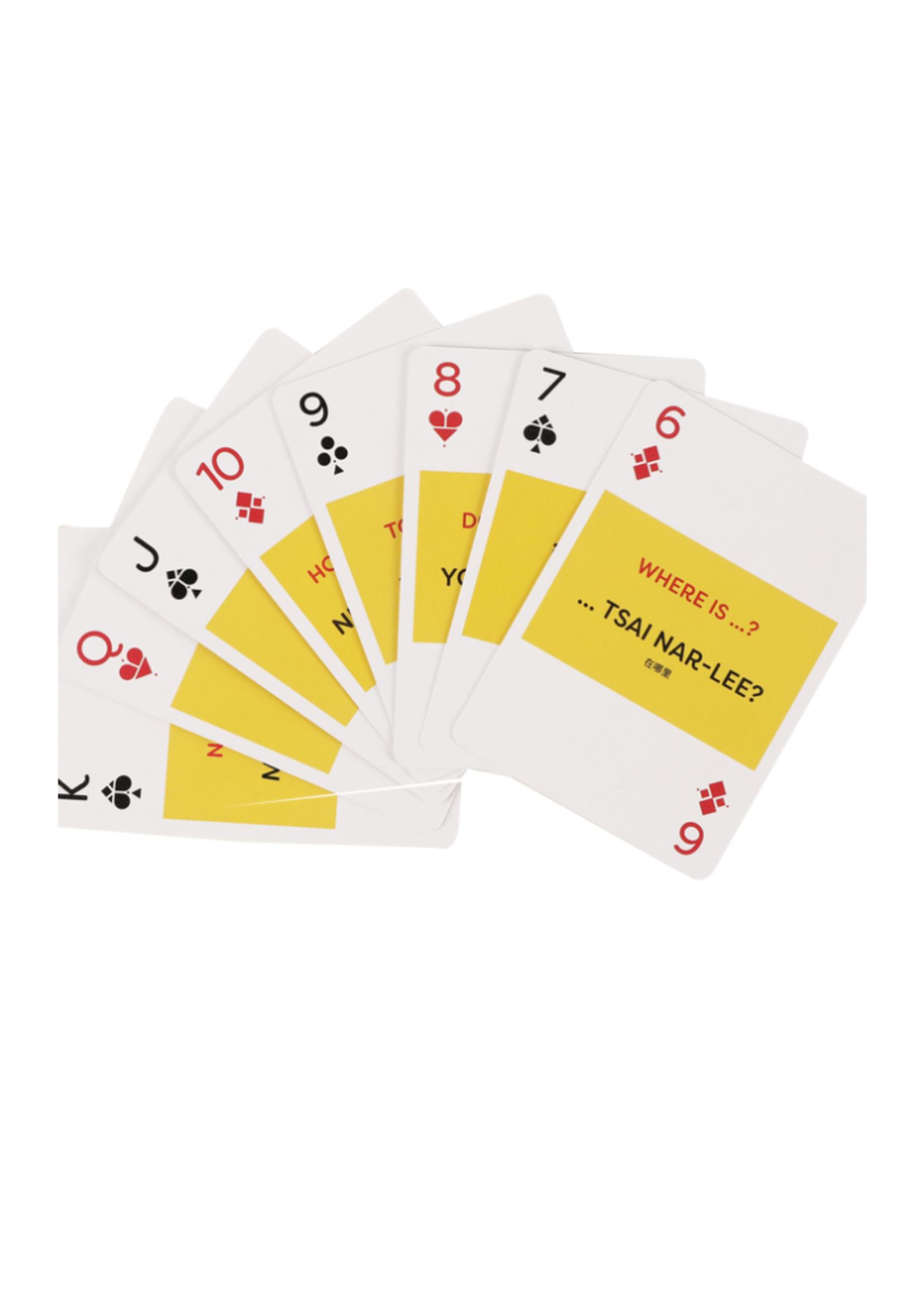 Lingo Playing Cards - Mandarin