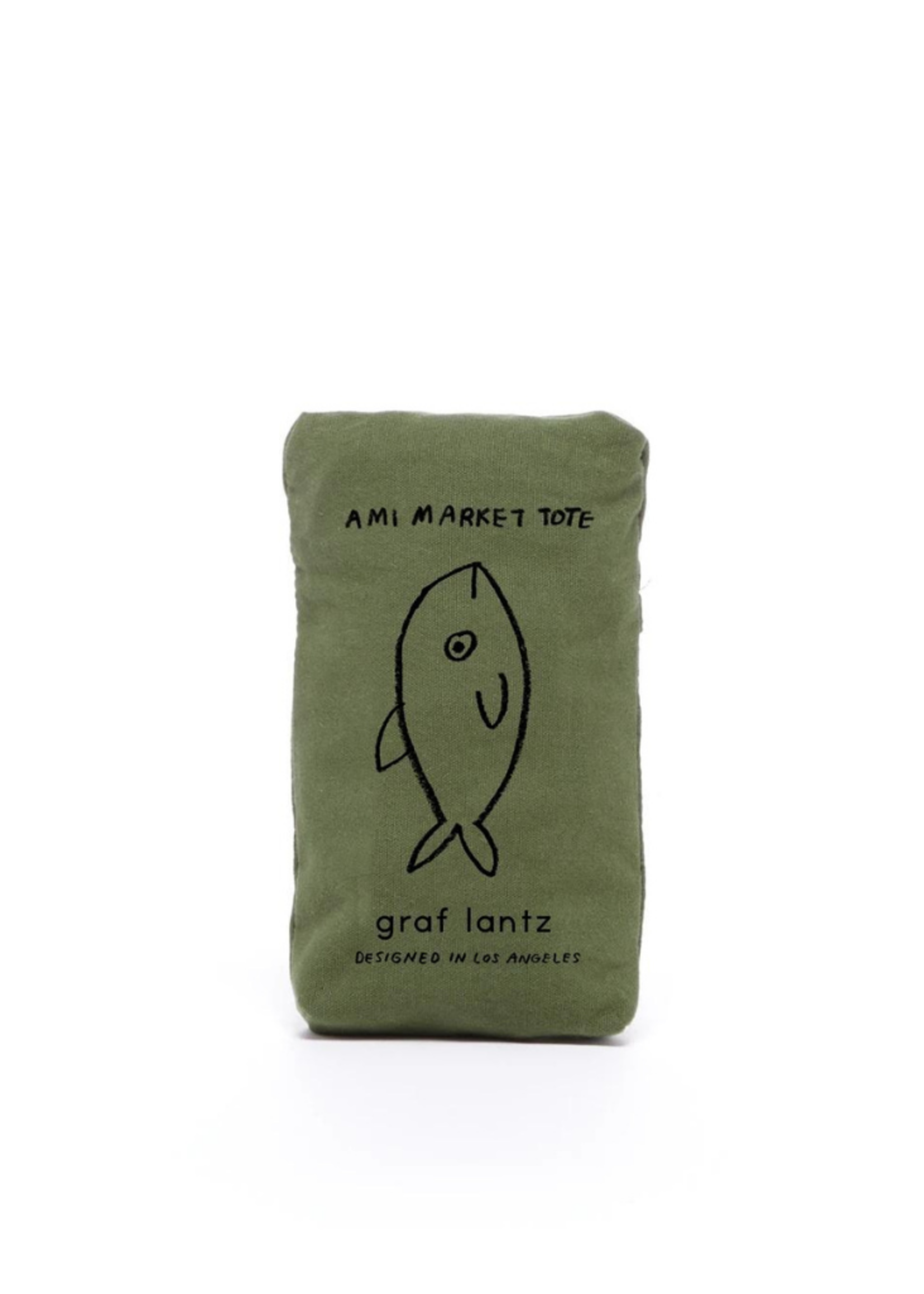 Graf&Lantz Ami Net Market Tote Army
