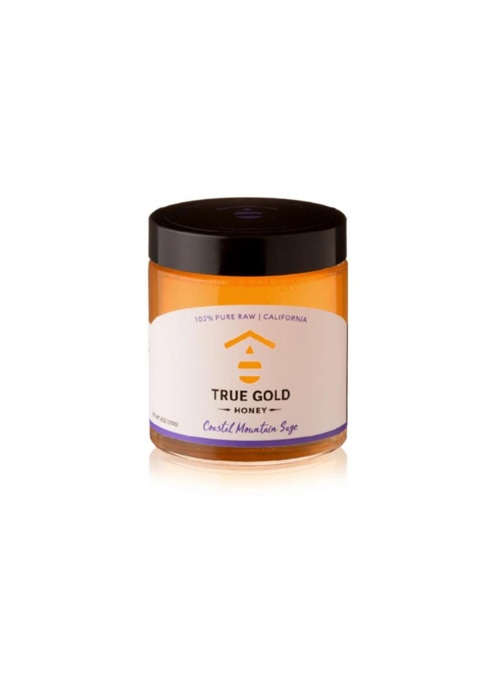True Gold Honey 6 oz Costal Mountain Sage Honey