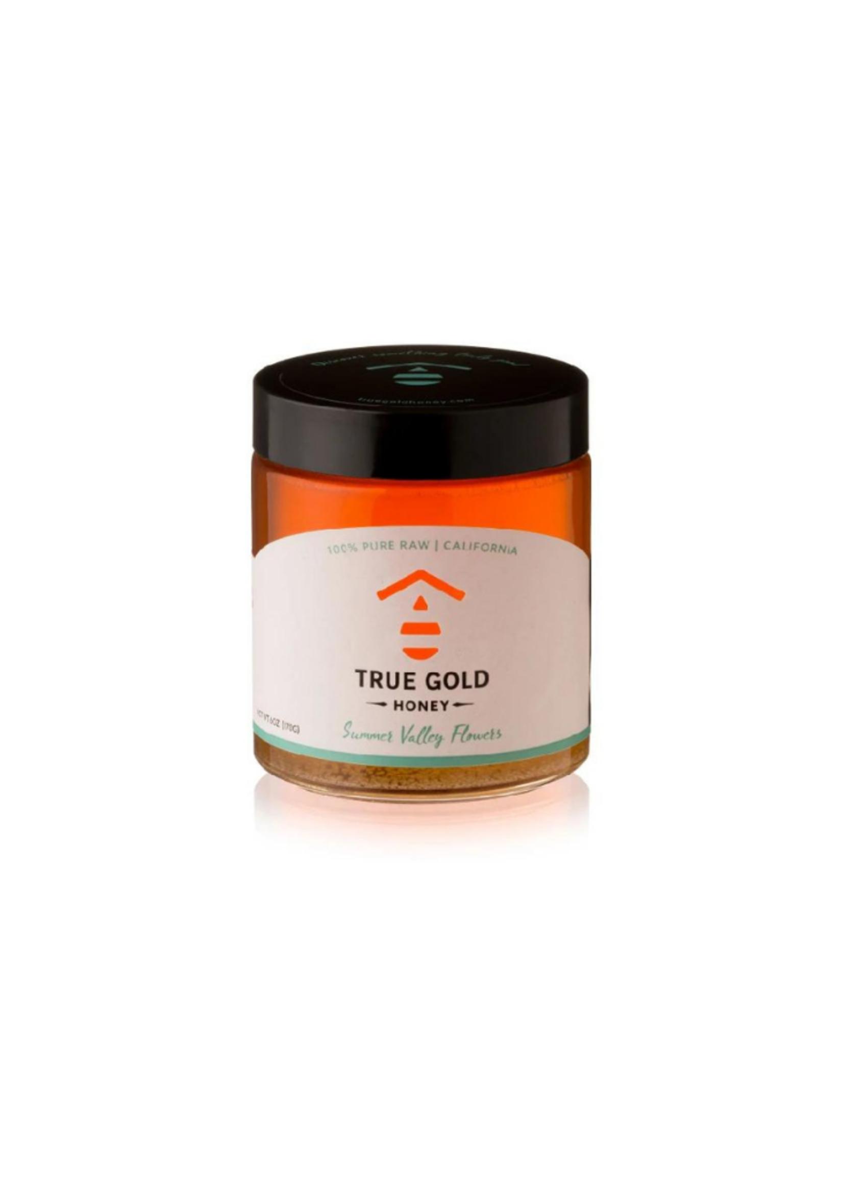 True Gold Honey 6 oz Summer Valley Flowers Honey