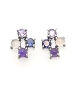 Joanna Gollberg Joanna Gollberg 4 Stone Cross Earrings