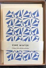 Esme Winter Box of 6 Blank Cards