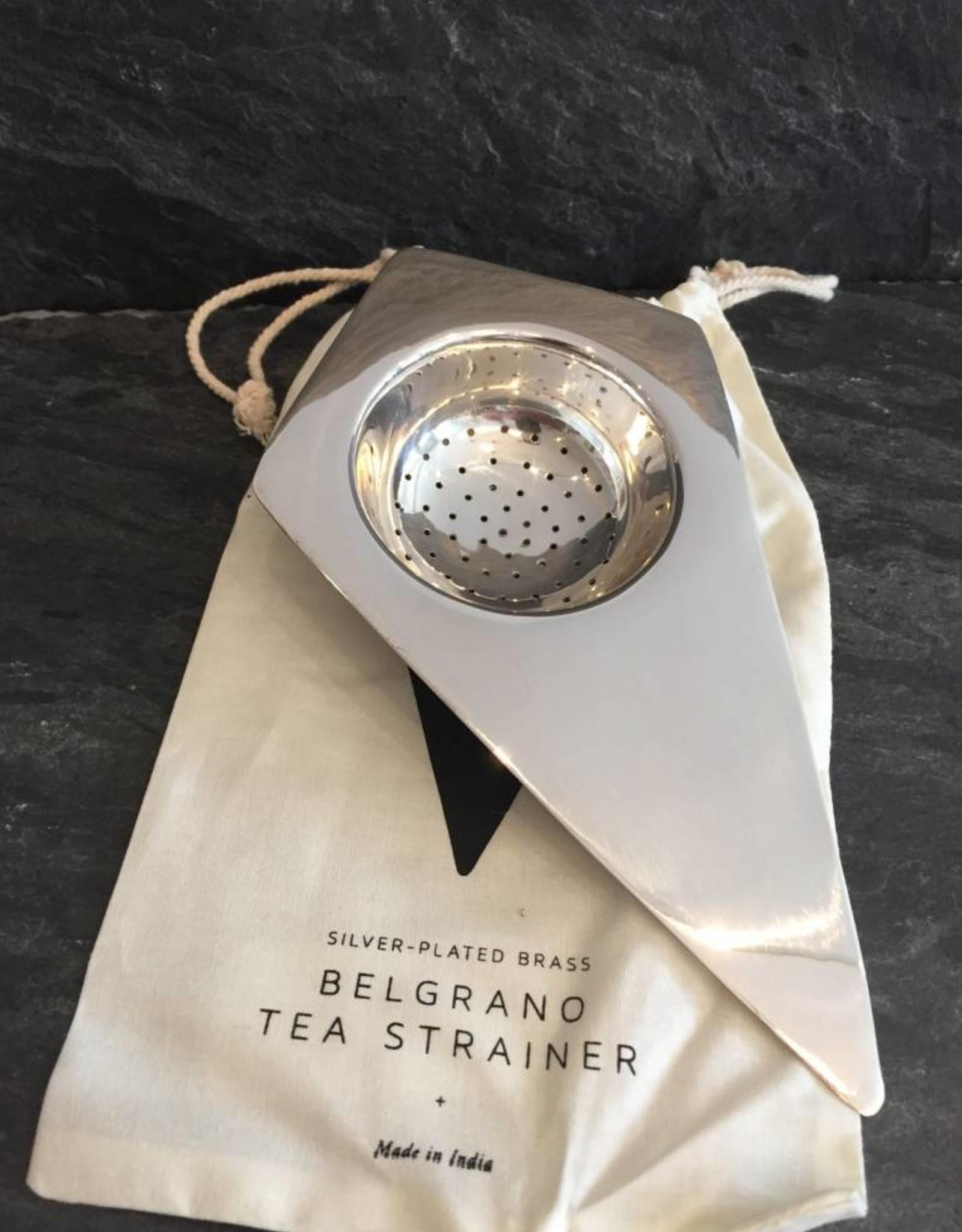 Sir/Madam Sir/Madam  Silver Plated Brass  Belgrano Tea Stariner