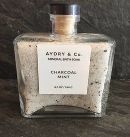 AYDRY & Co AYDRY-CMMBS Charcoal Mint Mineral Bath Soak