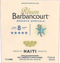 Barbancourt Rhum 5 Star