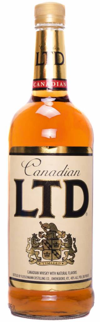 Canadian LTD Whiskey