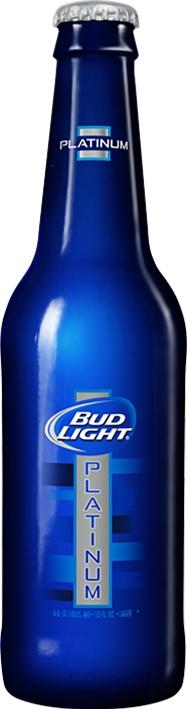 Bud Light Platinum 12oz Bottle