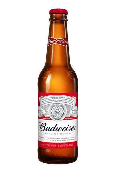 Budweiser 12oz Bottle
