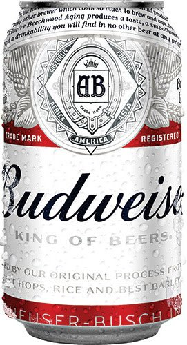 Budweiser 12oz Can