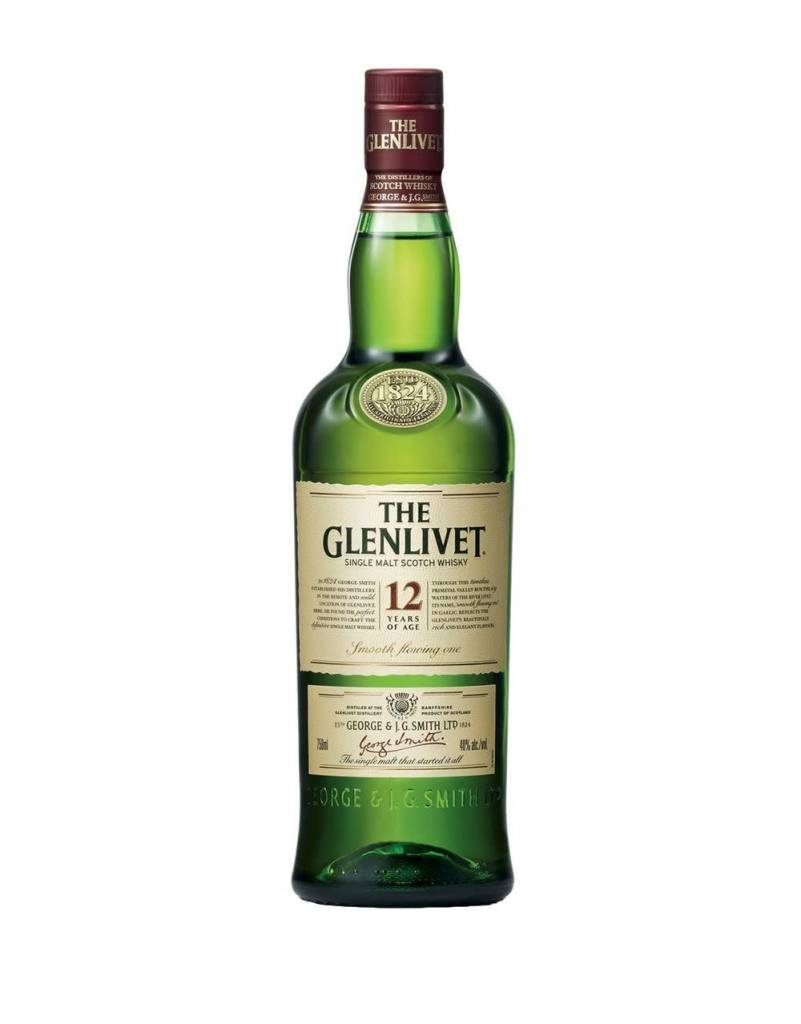 Glenlivet Scotch Whiskey 12Yr
