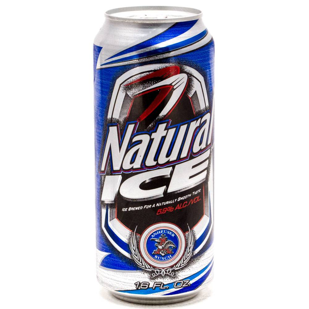 Natural Ice 16oz Can