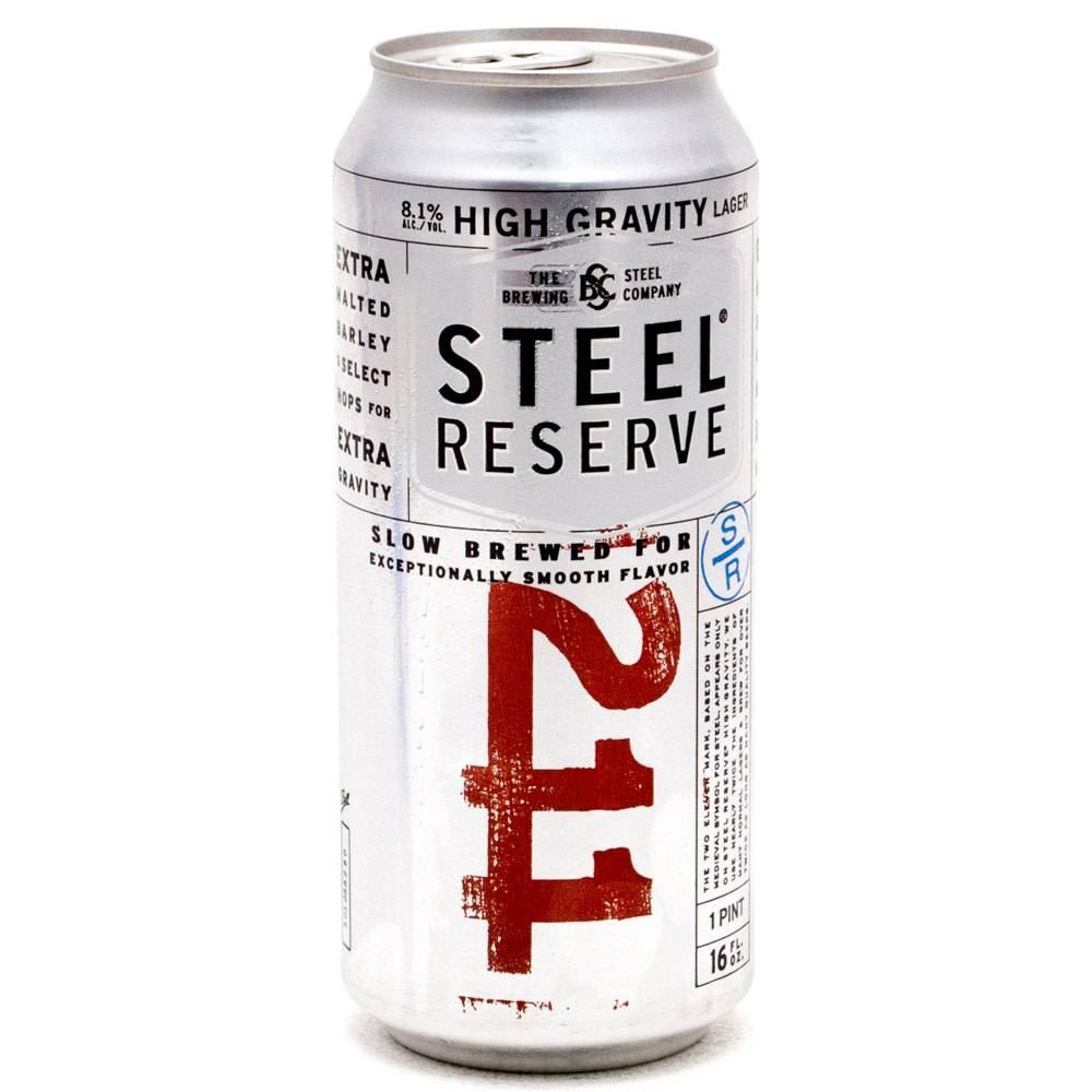Steel Reserve 211 16oz Can