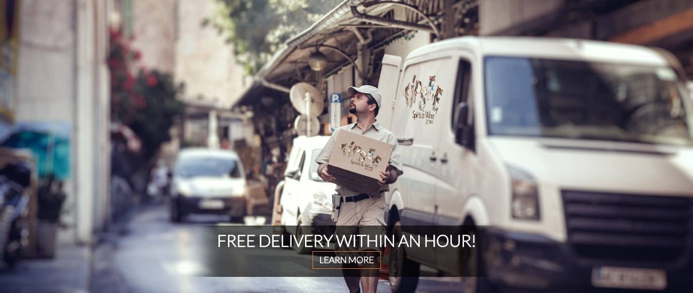 FREE Delivery Within an Hour!