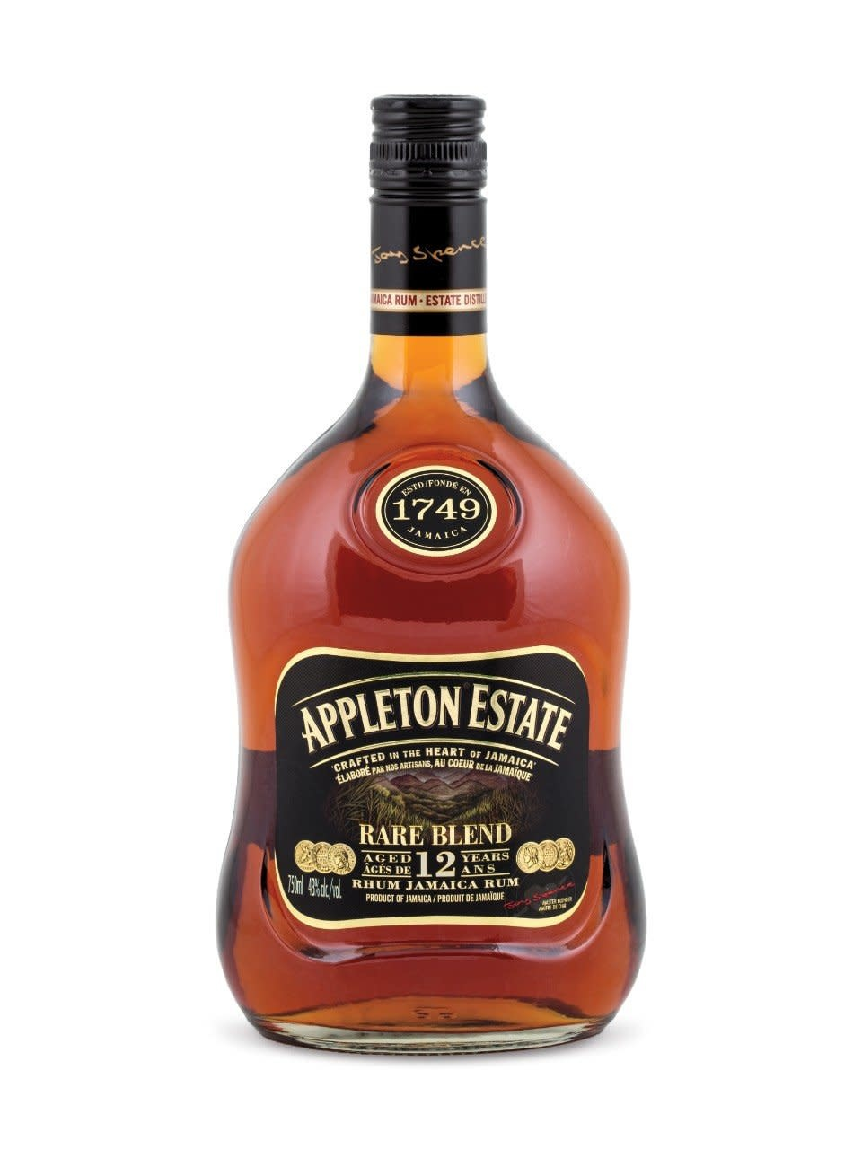 Appleton Estate Rare Blend Rum 12 Yrs. 750ml