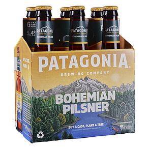 Patagonia Bohemian Pilsner 12oz 6pk