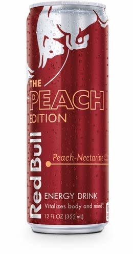 Red Bull Peach 12oz