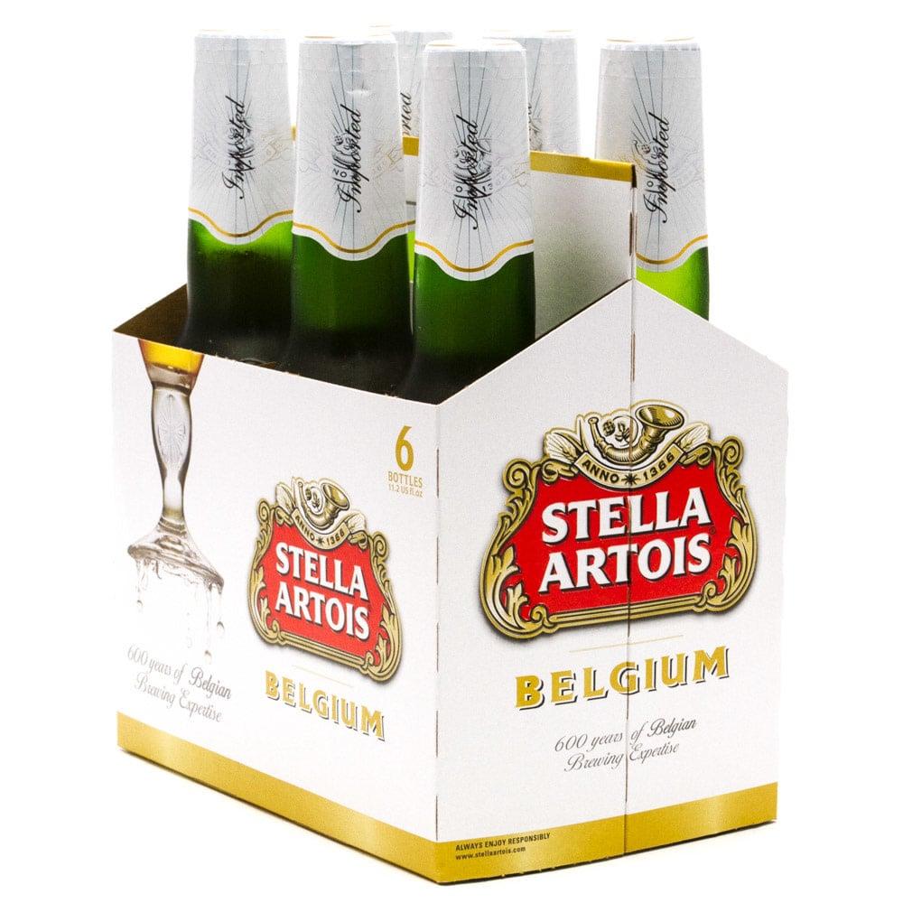 Stella Artois 12oz Bottle 6pk