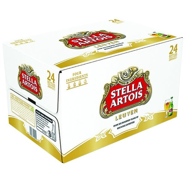Stella Artois 12oz Bottle Case