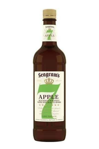 Seagram's 7 Whiskey Apple 750ml
