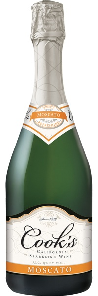 Cook's Moscato Sparkling Wine 750ml