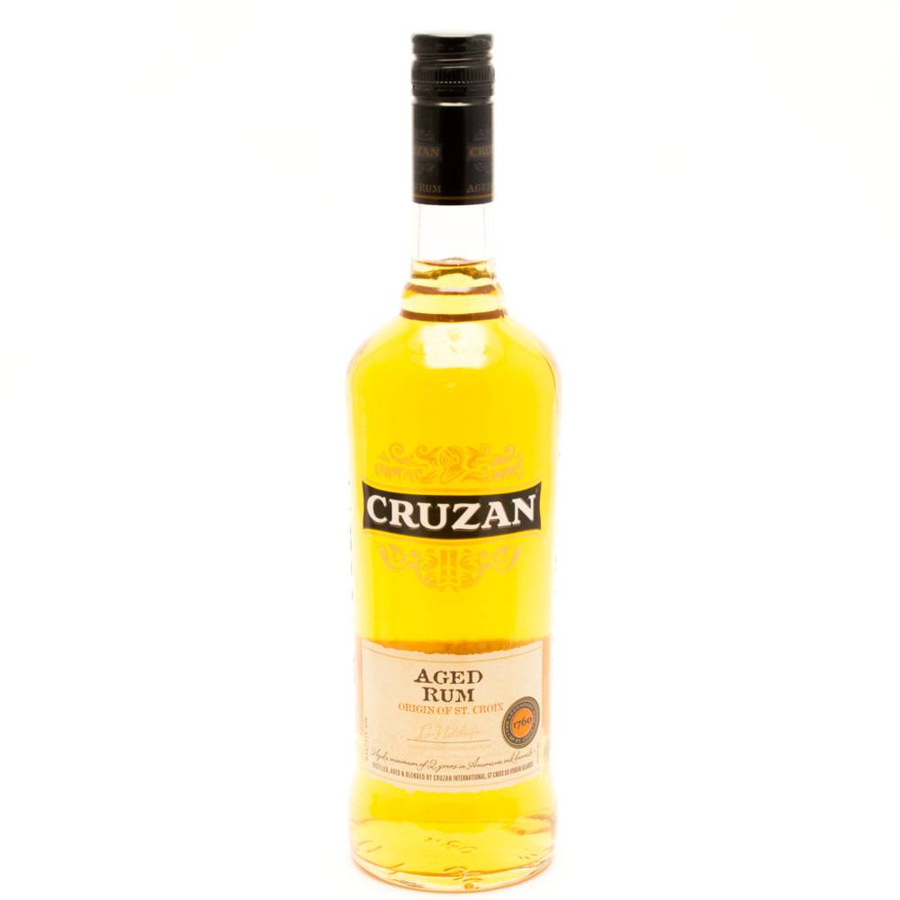 Cruzan Dark Rum 750ml