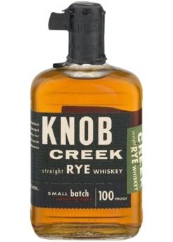 Knob Creek Rye Whiskey 100 proof 750ml