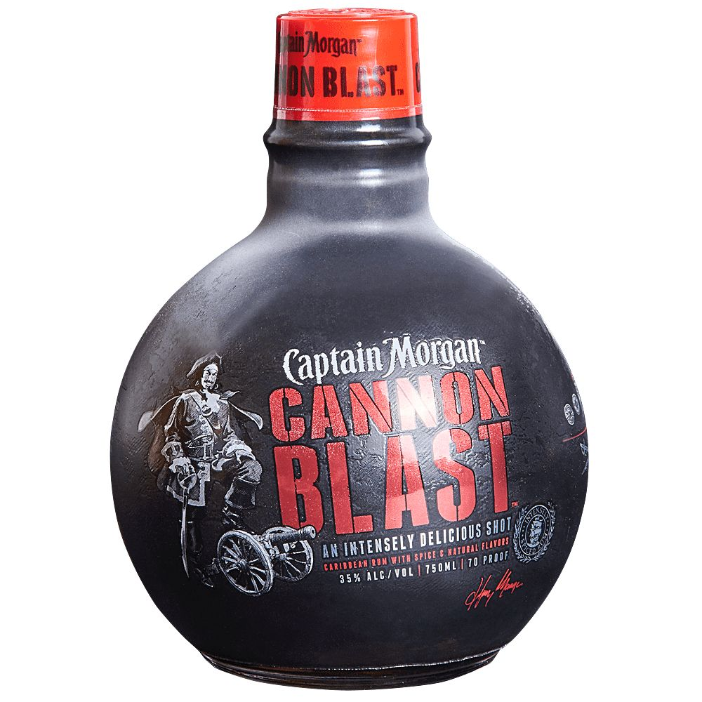 Captain Morgan Cannon Blast 750ml
