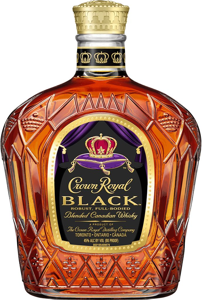 Crown Royal Black Whiskey 750ml