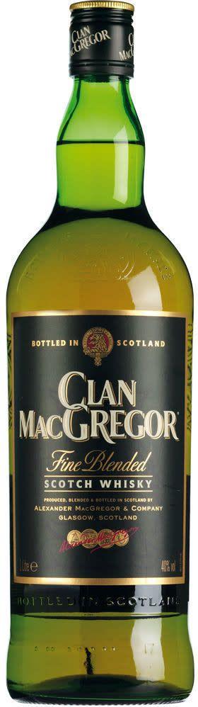 Clan MacGregor Scotch Liter