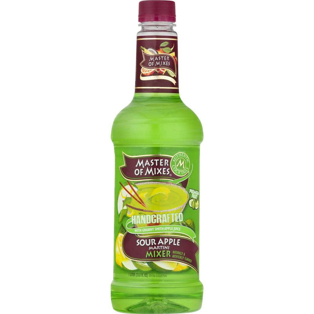 Master Mix Sour Apple Liter