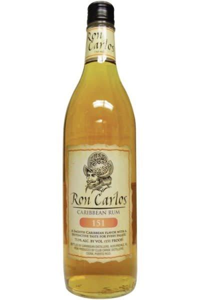 Ron Carlos Rum 151 Liter